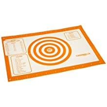 Casabella Silicone 16.5 X 11.75 Inch Baking Or Pastry Mat