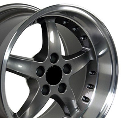Wheel1x - Cobra R Deep Dish Style Wheels  Rivets