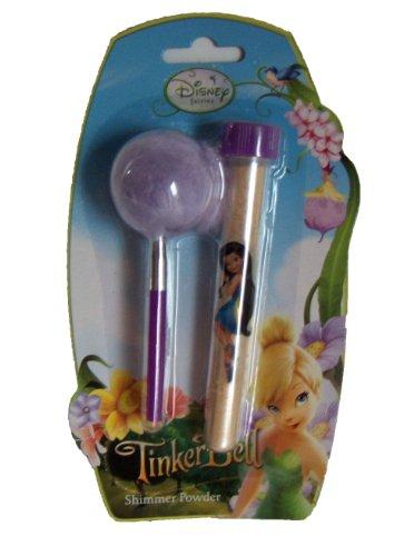 DISNEY FAIRIES! TINKERBELL SHIMMER POWDER & PUFF BEAUTY SET! PERFECT LITTLE GIRL MAKEUP GIFT!