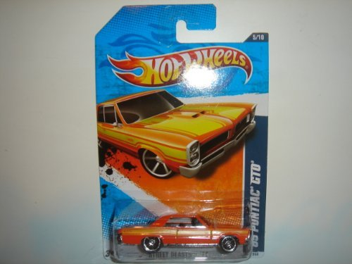 2011 Hot Wheels '65 Pontiac GTO Orange #85/244
