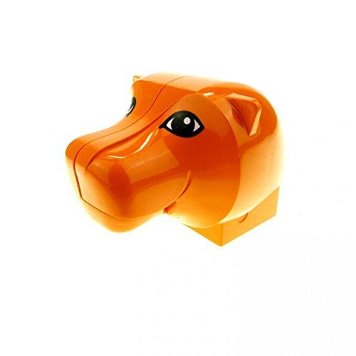 1 x Lego Duplo Tier Löwe Kopf orange Tiger groß Katze Safari Zoo Zirkus Maul beweglich 44221