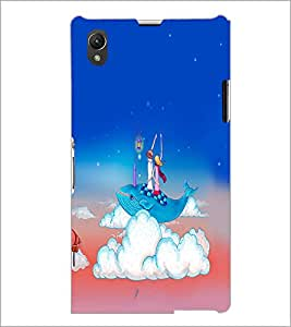 PrintDhaba Funny Image D-4261 Back Case Cover for SONY XPERIA Z1 (Multi-Coloured)
