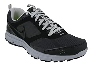 Nike Men's Lunarfly +2 Trail, 454074-001, BLACK ANTHRACITE-NEUTRAL GREY (US Men's 7 D medium)