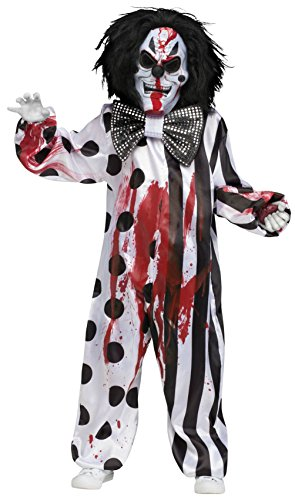 Boys Costumes Scary Costumes Bleeding Clown