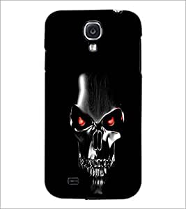 PrintDhaba Skull Mask D-2041 Back Case Cover for SAMSUNG GALAXY S4 (Multi-Coloured)