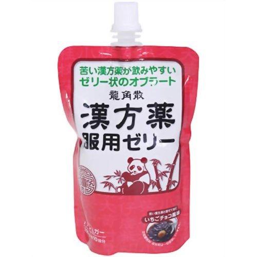 龍角散漢方服用ゼリー いちごチョコ風味 200g