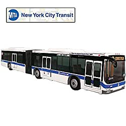 New York City Metro Transit Bus Die Cast: Replica Transportation Collectible