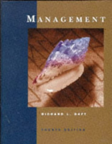Management (The Dryden Press series in management)