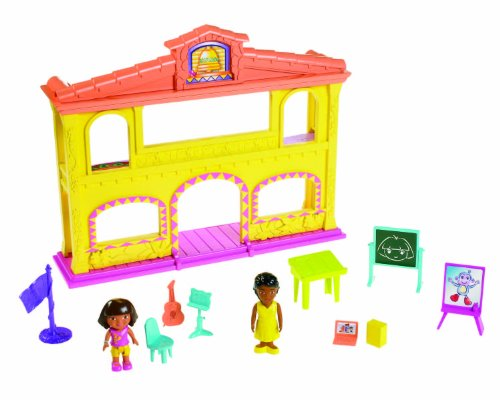 Dora The Explorer Playtime Together School Adventure House