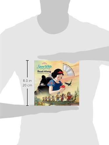 Snow White and the Seven Dwarfs (Disney Princess: Read-Along Storybook and CD)