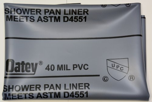 "Read About SHOWER PAN LINER KIT 6X7 ""OATEY"""
