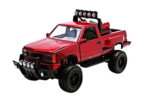 motormax-79136r-gmc-sierra-gt-pickup-echelle-1-24