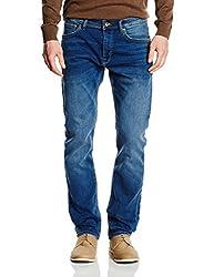 Celio Men's Straight Fit Jeans blue 36Wx32L