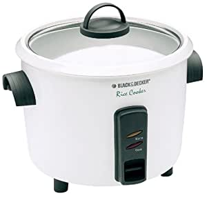 black and decker rice cooker how to use