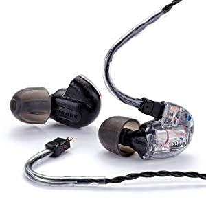 Westone UM 3X In-Ear Musician's Monitor, Universal Fit Earphone with Removable Cable, Clear, 79292