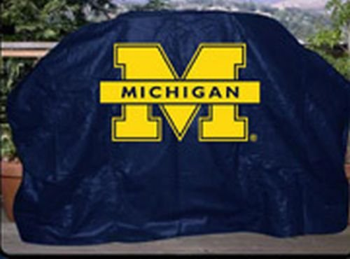 NCAA Michigan Wolverines 59-Inch Grill Cover