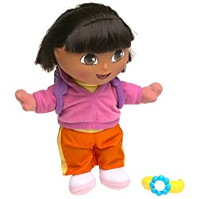 Fisher-Price Talking Dora Surprise Doll