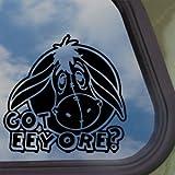 EEYORE Black Decal DONKEY GOT DISNEY WINNIE Window Sticker