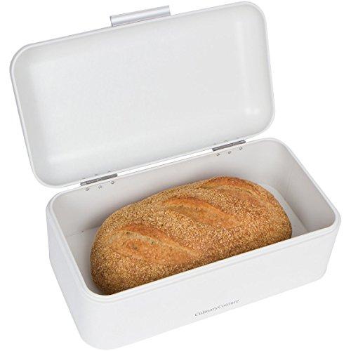 Large White Bread Box Countertop Bread Bin Storage Size 165