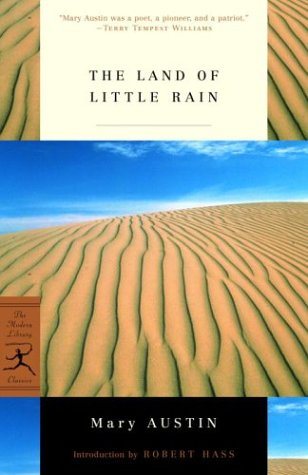 The Land of Little Rain (Modern Library Classics)