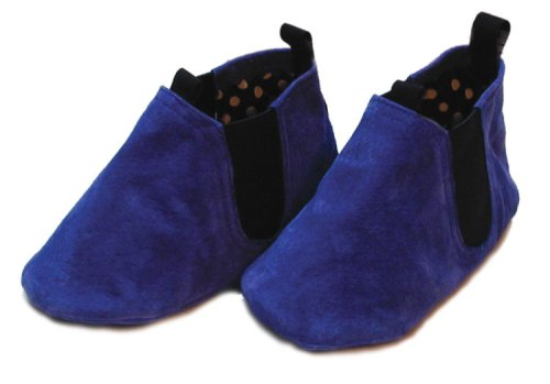 Cheap Leather Infant Shoe – Bootlet Royal Blue by Goody Goody (B000FRUFSU)