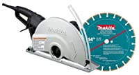 Makita 4114X 14-Inch Angle Cutter with Diamond Blade from Makita
