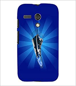 PrintDhaba Abstract Image D-4781 Back Case Cover for MOTOROLA MOTO G (Multi-Coloured)