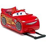 Disney Pixar Cars 2 Rolling Lightning McQueen Luggage Suitcase