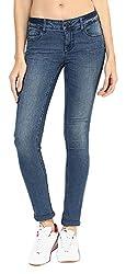 Fourgee Women's Jeans (43hds1--32, Blue, 32)