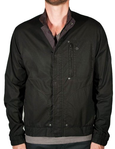 Applied Theory Men'S City Bomber Jacket Large Brown