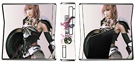 Final Fantasy XIII-2 13-2 Limited Edition Game Skin for Xbox 360 Slim Console