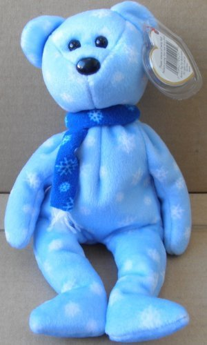 TY Beanie Babies 1999 Holiday Teddy Bear Plush Toy Stuffed Animal