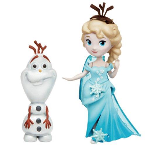 ディズニー アナと雪の女王 リトルキングダム ドール エルサ&オラフ