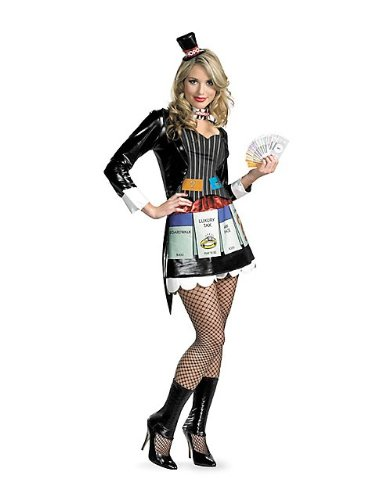 Sassy Mrs. Monopoly Deluxe Adult Costume