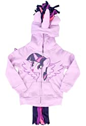 My Little Pony Twilight Sparkle Girls Costume Hoodie