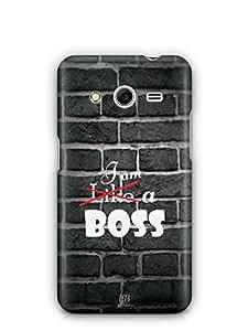 YuBingo I am a Boss Mobile Case Back Cover for Samsung Galaxy Core 2