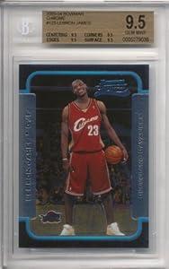 2003-04 Bowman Chrome Lebron James Rookie #123 Graded BGS 9.5 GEM MINT
