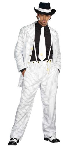 Dreamguy by DG Brands Men's Mobster, Gangster Suit Costume Zoot Suit Riot