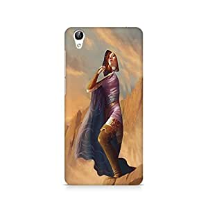 Mobicture Girl Art Premium Printed Case For Vivo Y51L
