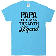 Papa The Man Myth Legend T-Shirt