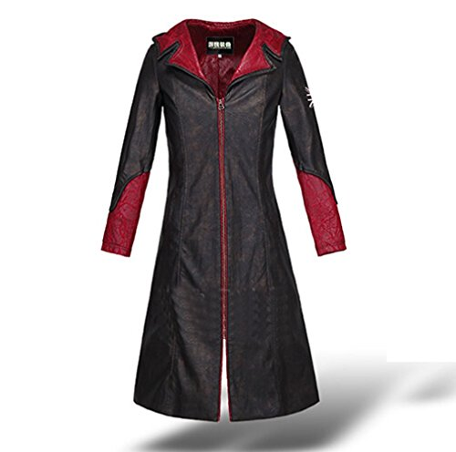 LifeShoppingMall Devil May Cry 5 Dante Youth Cosplay Costume-Men-Medium (Devil May Cry Dante Cosplay compare prices)