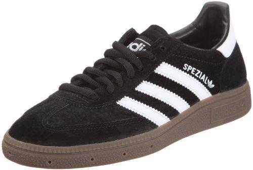 adidas Handball Spezial, Unisex-Erwachsene Laufschuhe, Black/Runwhite, 42 2/3 EU (8.5 Erwachsene UK)