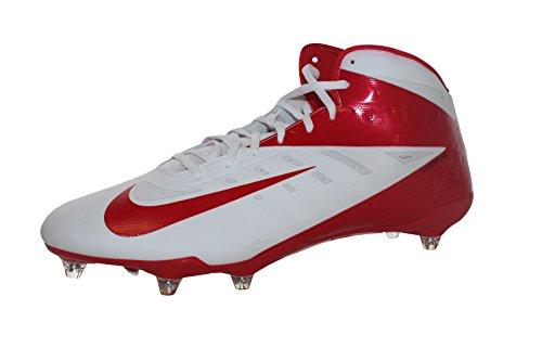 Vapor Talon Elite 3/4 Td modellata Calcio Tacchetti (16, rosso / bianco)