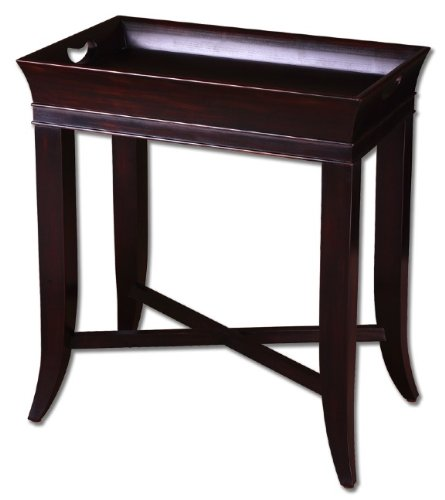 Cheap Britt, Wood End Side, Tray Table, Home Accent Decor (B001OZU6SG)