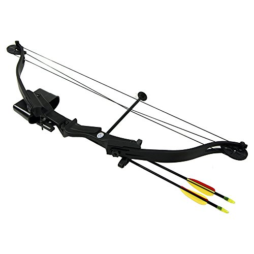 25-lb-Black-Camouflage-Camo-Archery-Hunting-Compound-Bow-Quiver-Armguard-2-26-Arrows-Bolts-75-55-40-lbs-Crossbow