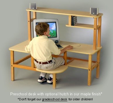 Buy Low Price Comfortable Preschool Computer Desk (B002IF4LP0)
