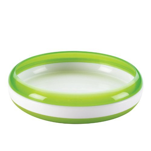 Baby / Child Safe And Convenient OXO Tot Weighted Plate For Stability And Durability Non-Slip Base - Green Infant