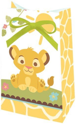 Disney Lion King Baby Favor Bags (12 count) Party Accessory - 1