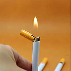 1Pc Cigarette- shaped Butane Lighter( Gas Not Included)