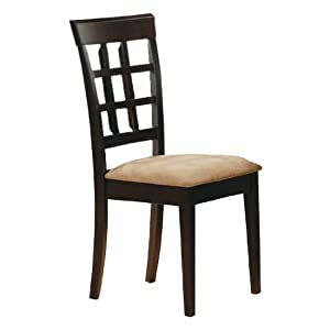 Oakland Wheat Back Chair (Set of 2) - Coaster 100772 Efurnitureshowoom